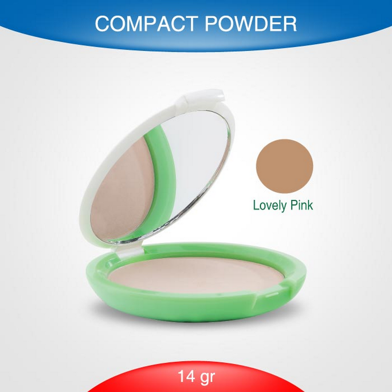 Acnes Compact Powder Lovely Pink 14G