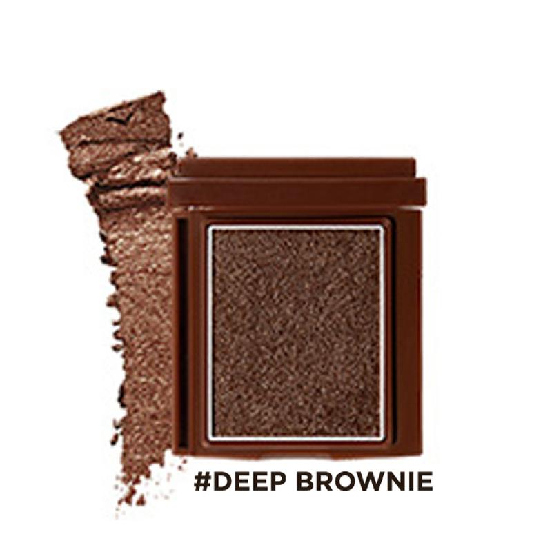 16brand Brickit Shadow Creamy Line - Deep Brownie