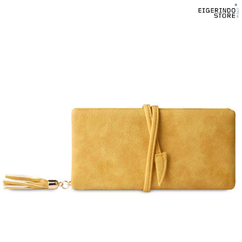 Exsport Long Nimmi Tassel Wallet - Yellow