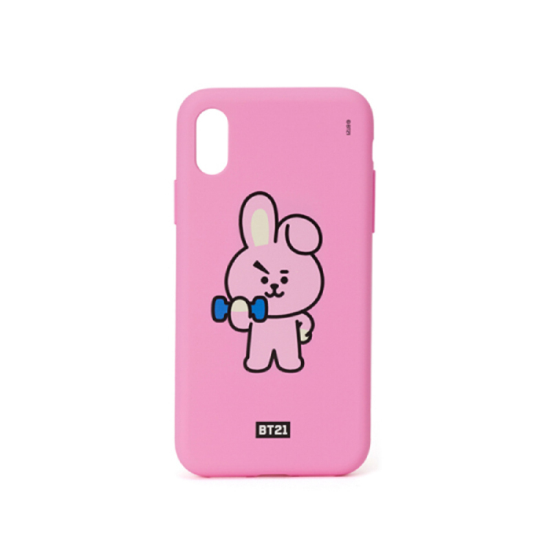 BT21 iPhone X Cooky Silicon Case