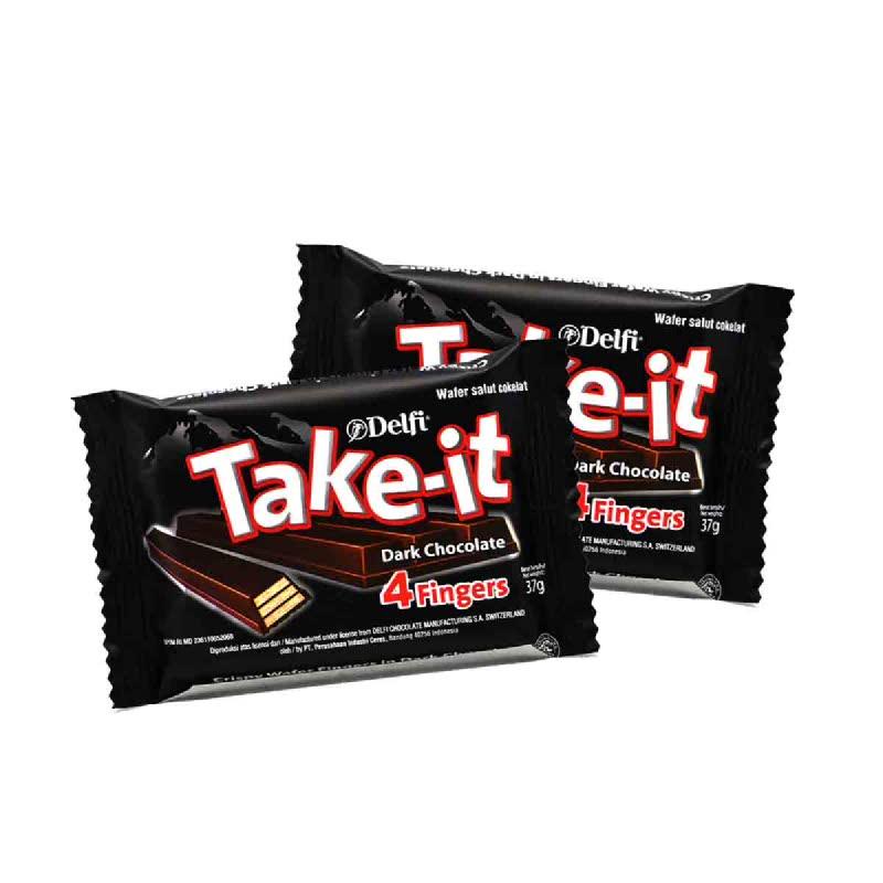 Delfi Take It 4 Finger Dark 37 Gr (Buy 1 Get 1)