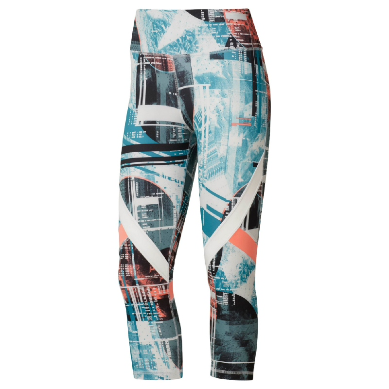 Reebok WOR Meet You There Moonshift Capris Women Training Pant Multicolor