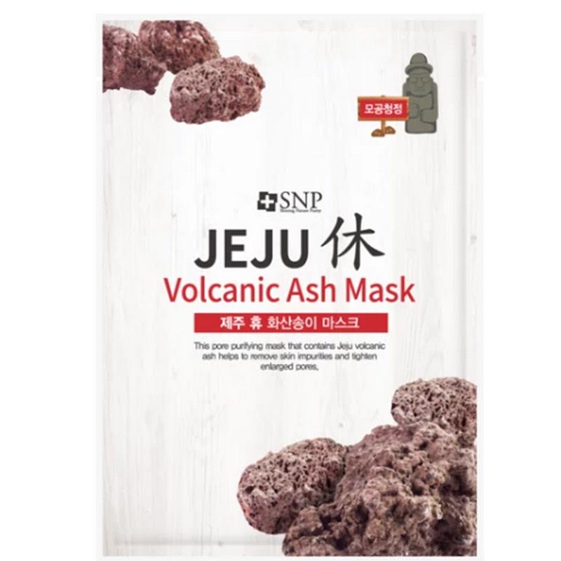 SNP Jeju Rest Volcanic Ash Mask 25ml