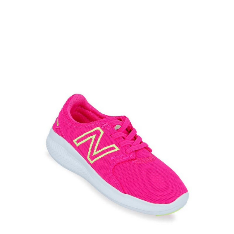 New Balance Kids Coast V3 Girls Running Shoes - Hot Pink NEWIACSTPP