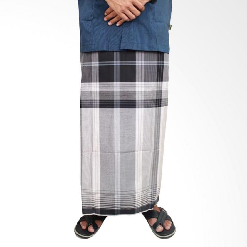 Gudang Fashion Kain Sarung Pria Katun Hitam Putih | iLOTTE