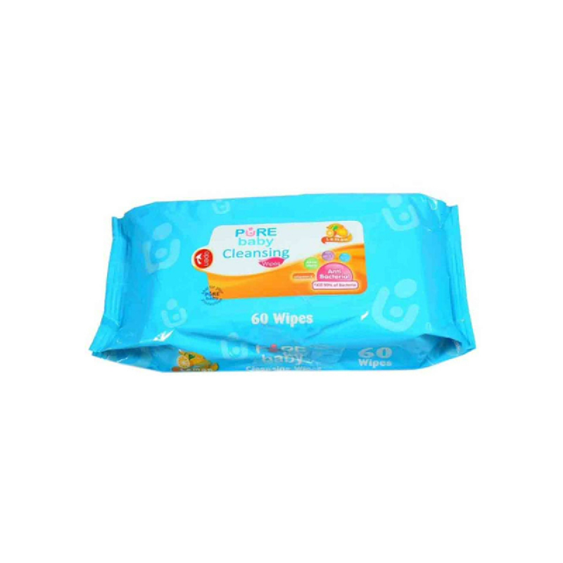 Pure Baby Tisu Pembersih Lemon 60 Sheet