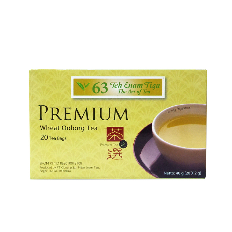 Premium Wheat (Gandum) Oolong Tea