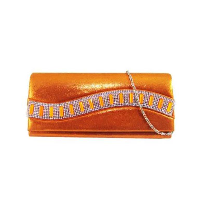 LnC Mirine Clutch - Orange