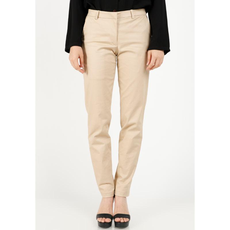 Agatha Basic Long Pants Brown