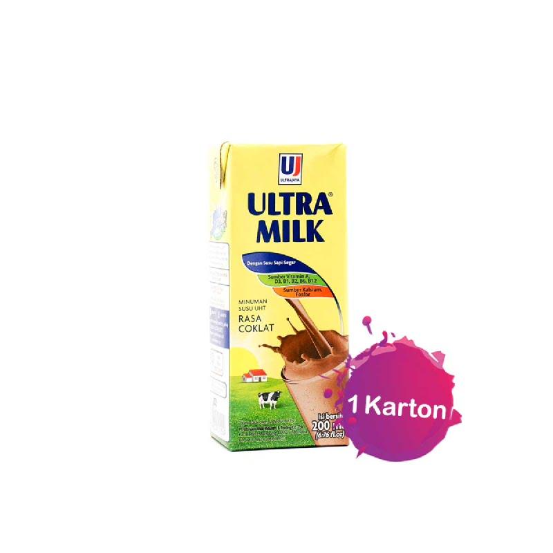 Ultra Milk Chocolate 200 Ml 1 Karton (B2B)
