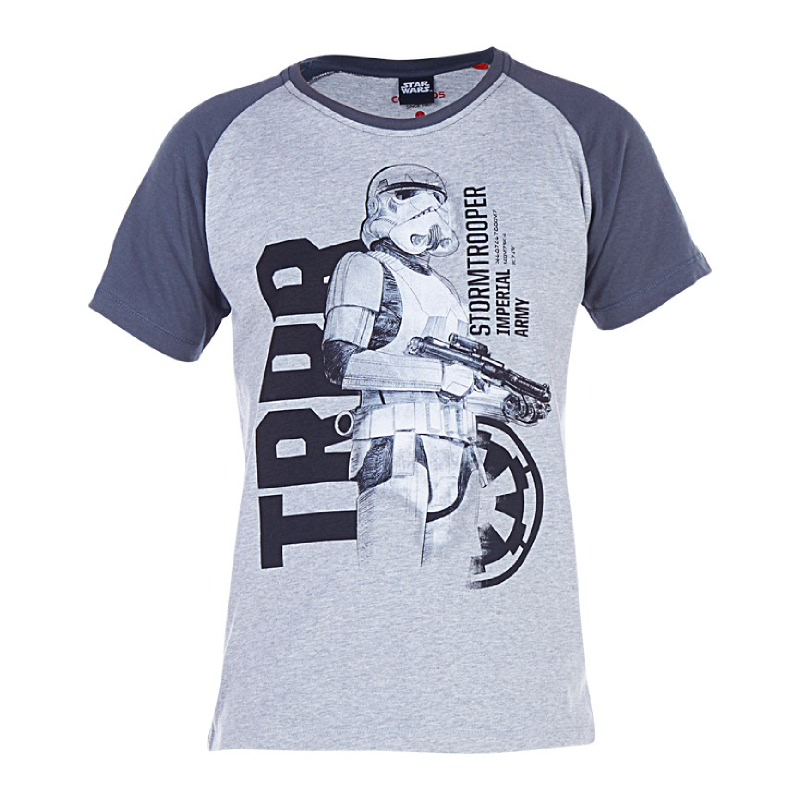 Rogue One Imperial Army T-Shirt Kids Grey