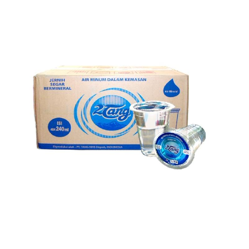 2 Tang Air Mineral Gelas 240Ml
