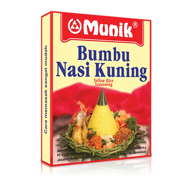 Munik Bumbu Nasi Kuning  65Gram
