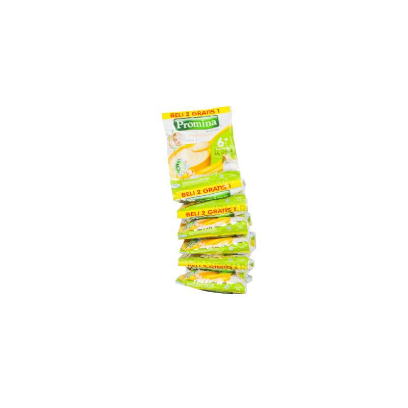 Promina Bubur Bayi Pisang Susu Sachet 20 gr (2+1)