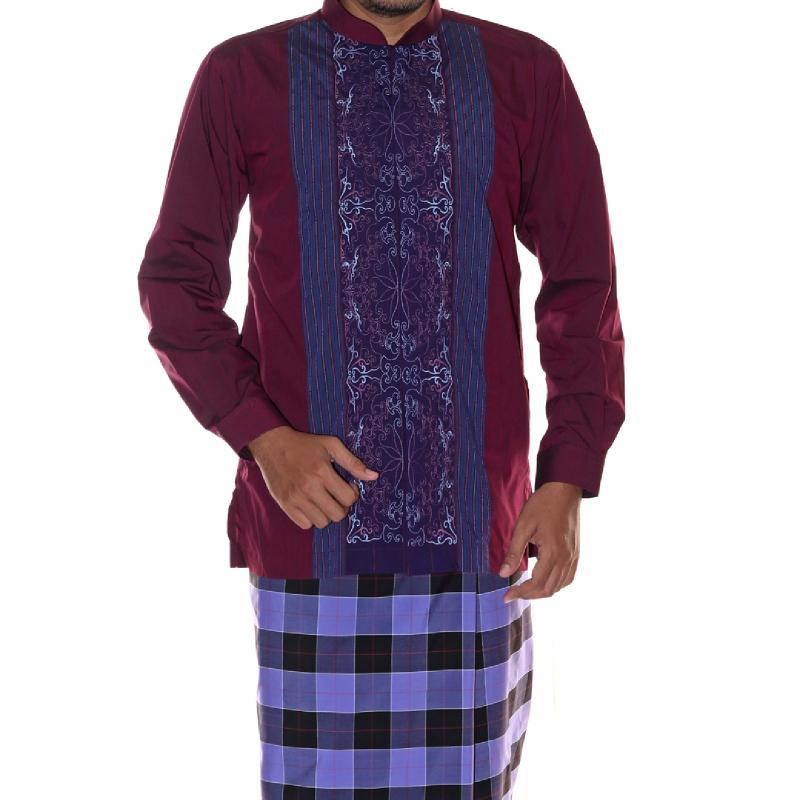 Atlas Baju Muslim Super Ungu