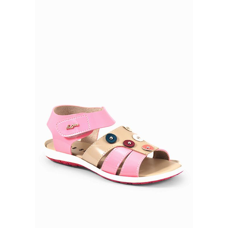 Cbr Six Sandal Anak Perempuan [Mic 219] - Pink Kombinasi