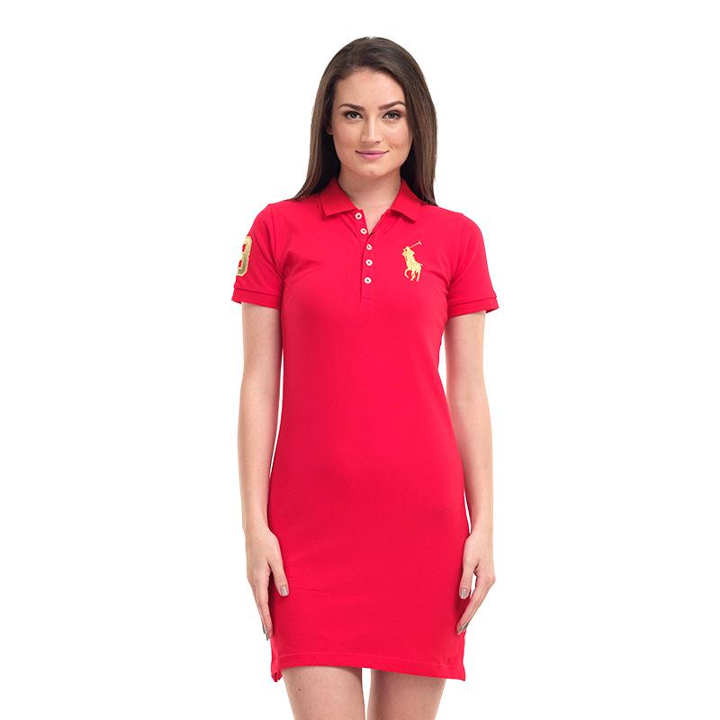 Polo Ralph Lauren Women Dress Red