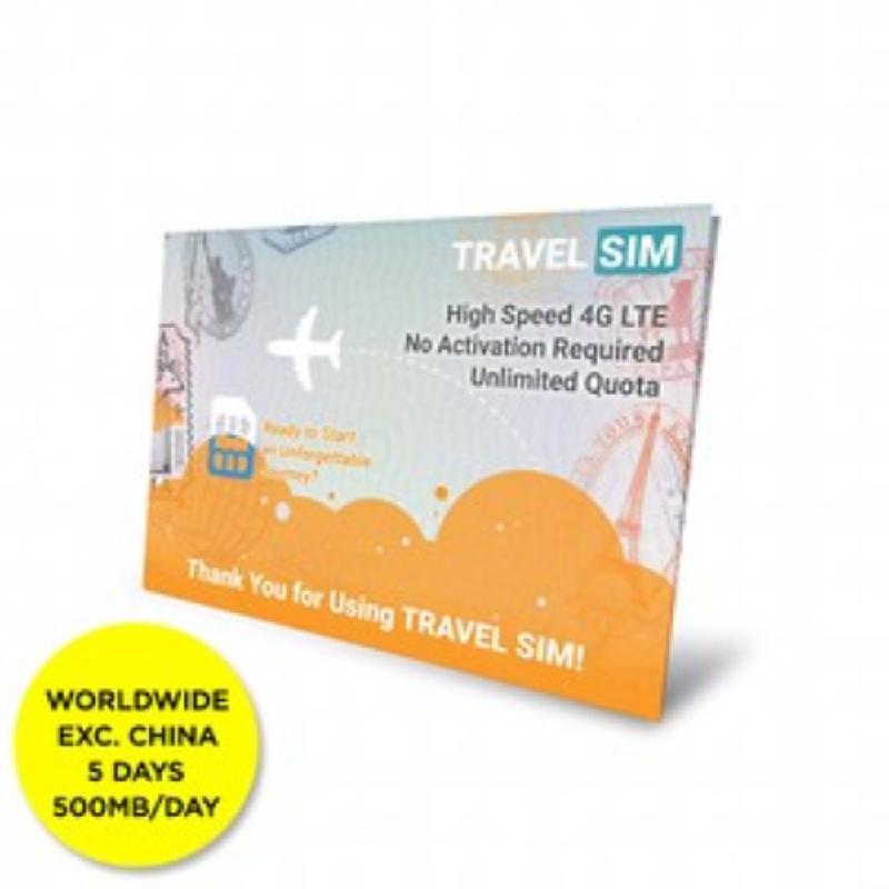 Travel SIM Worldwide 5days