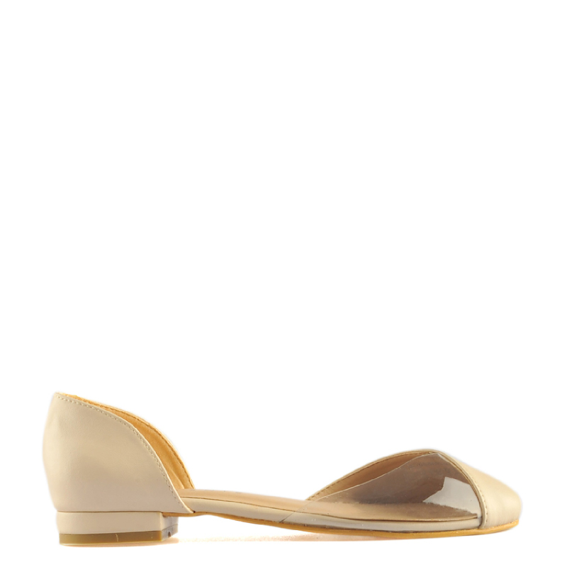 Amante Flat Shoes Marina K18 Beige