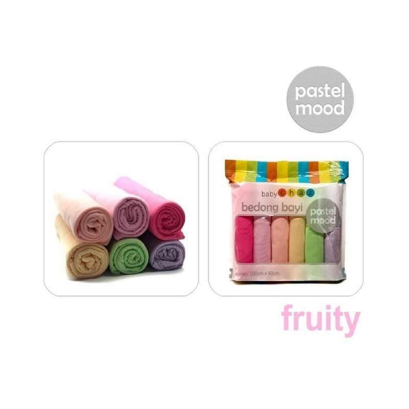Baby Chaz Pastel Mood Fruity Bedong Bayi