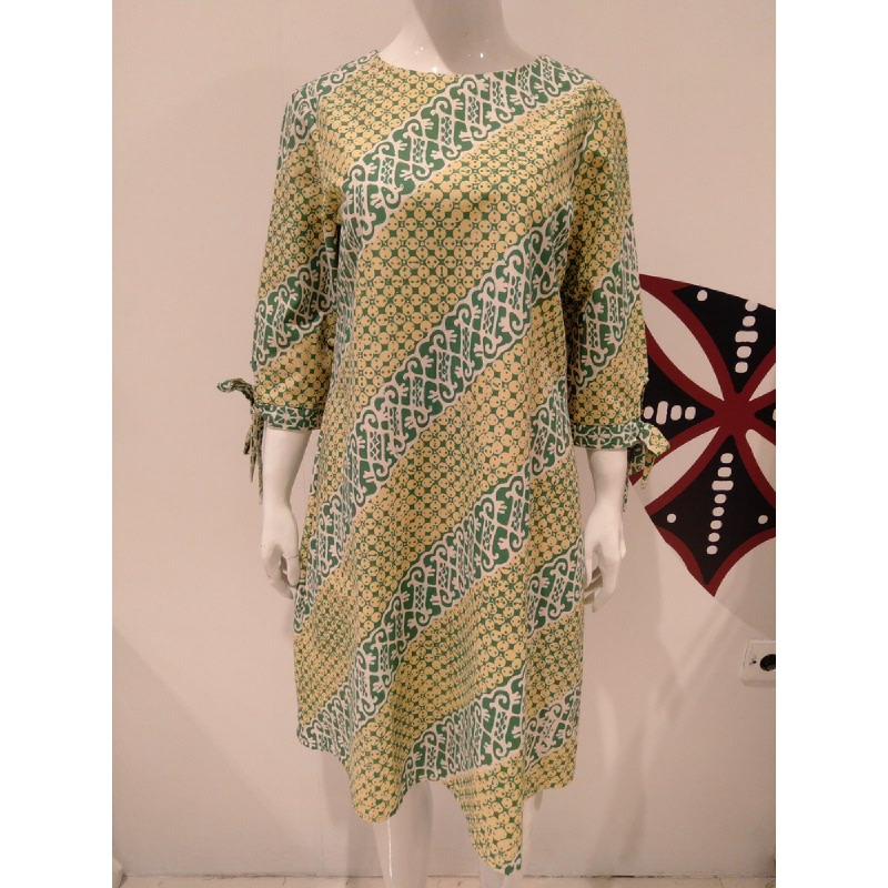 Astari Batik Dress Green