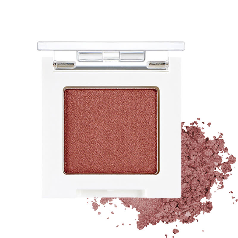 The Face Shop Mono Cube Eyeshadow (Glitter) RD01 Cognac Brown