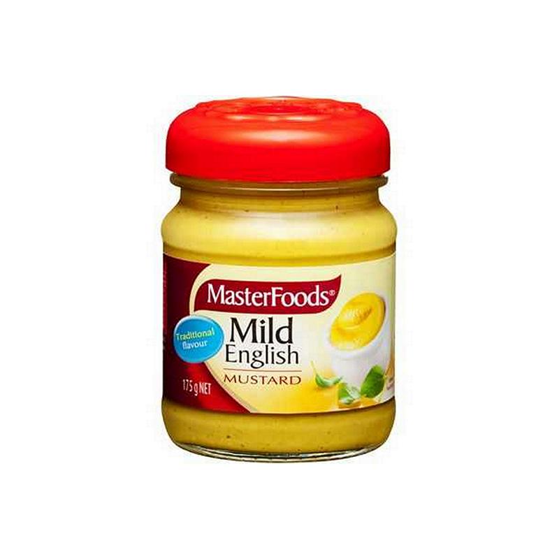 Masterfoods Mild English Mustard 175G