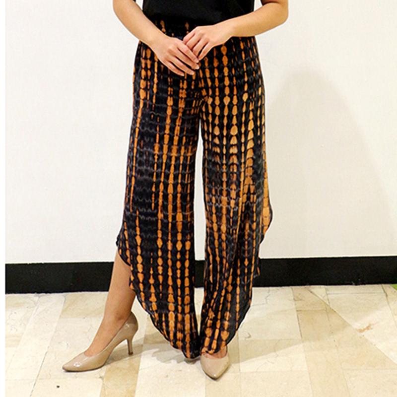 Batik Chic Celana Belah Brown