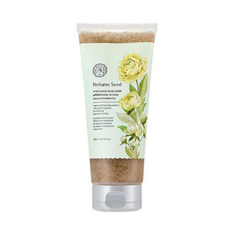 The Face Shop Perfume Seed White Peony Body Scrub (Tube)
