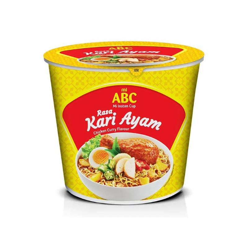 Abc Mie Abc Cup Kari Ayam 60G