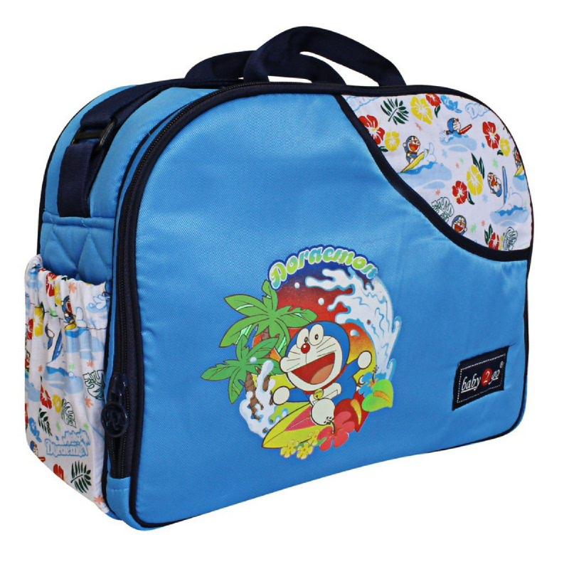 Baby 2 Go Medium Bag DoraemonB2T4201 Biru