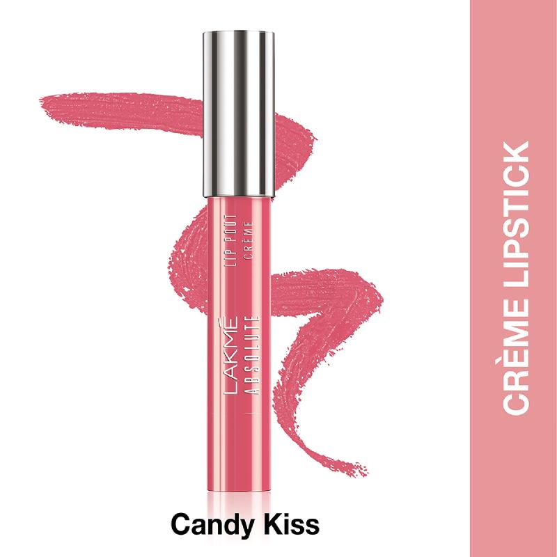 Lakme Absolute Reinvent Lip Pout Crème Candy Kiss