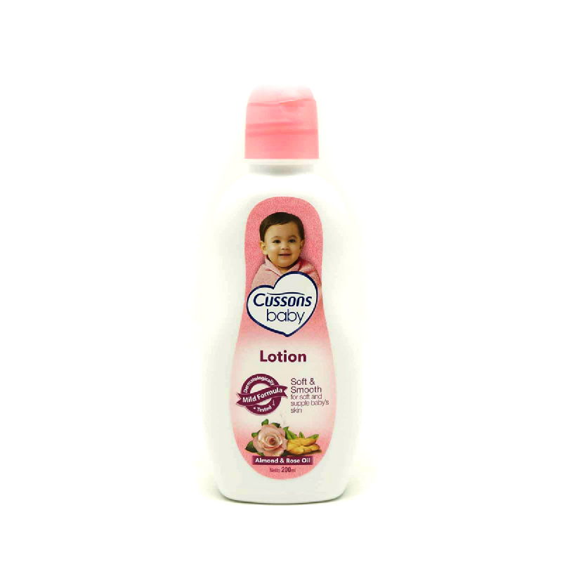 Cussons Baby Lotion Soft & Smooth 200 Ml
