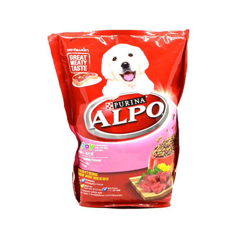 Purina Alpo Makanan Anjing Daging+Sayuran+Wmes 450Gr