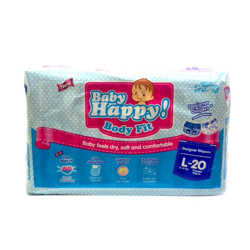 Baby Happy Popok Bayi L 20 Pcs
