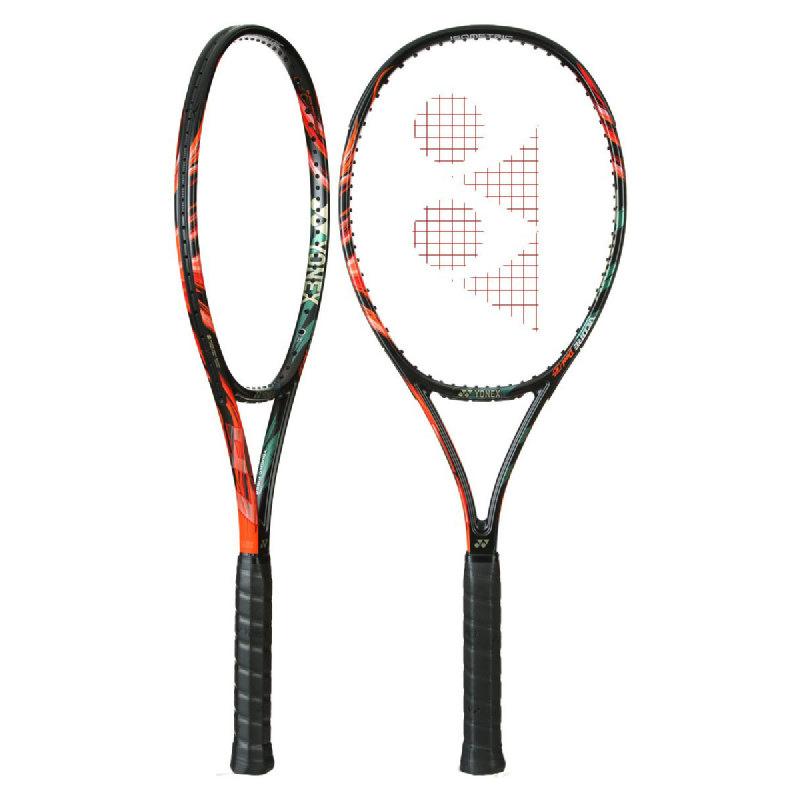 Yonex Vcore Duel G 97 310Gram Raket Tennis - Black-Lime