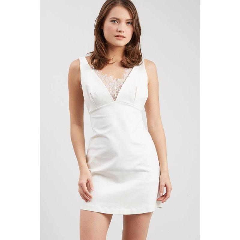 GW Grafen Dress in White