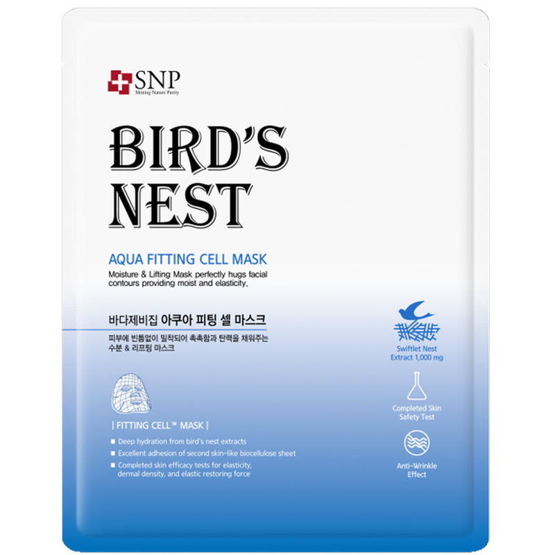 SNP Birds Nest Aqua Fitting Cell Mask 25ml