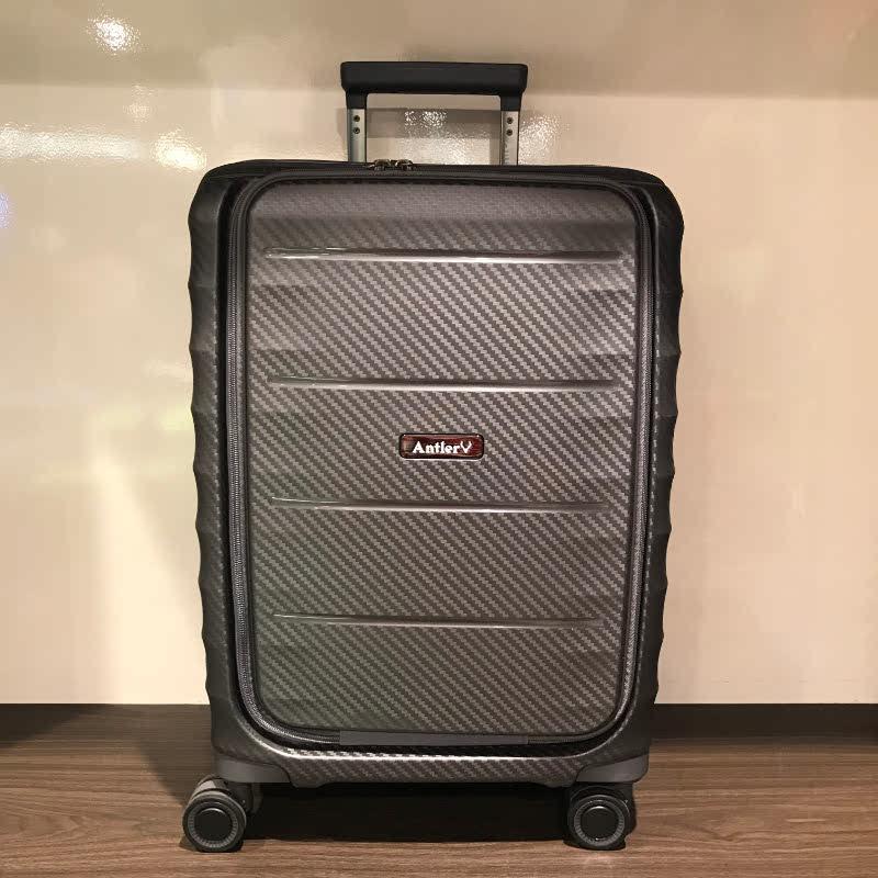 Antler A886868 Prado Medium Expandable Rollercase Black Grey