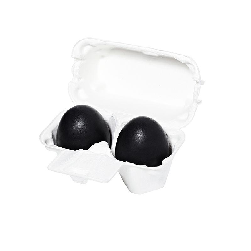 Charcoal Egg Soap