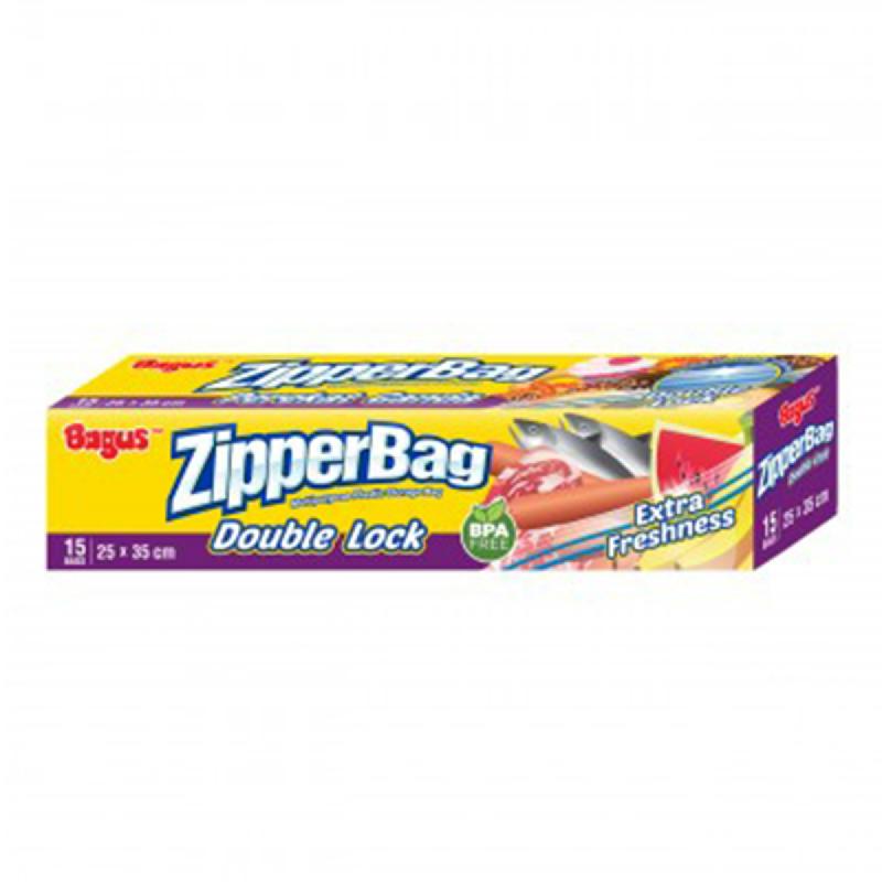 Bagus Zipper Bag 25 X 35 Cm 15 S