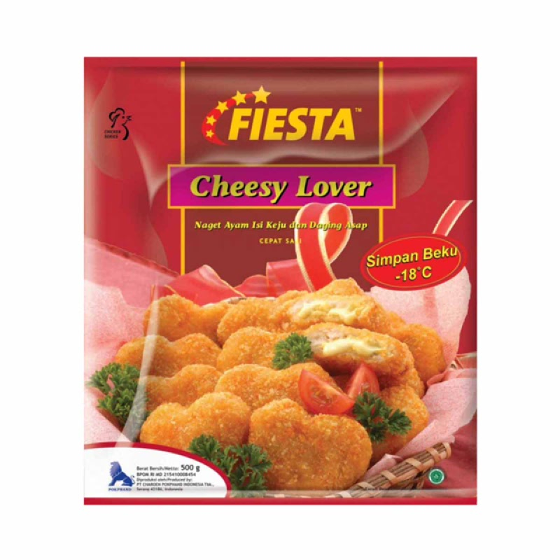 Fiesta Cheesy Lover 500G