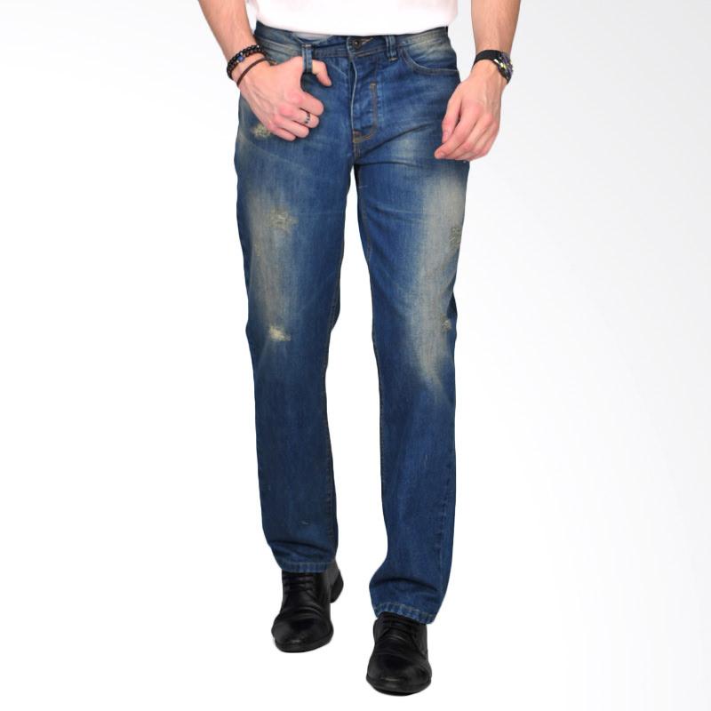 Greper Dark Blue Mens Jeans