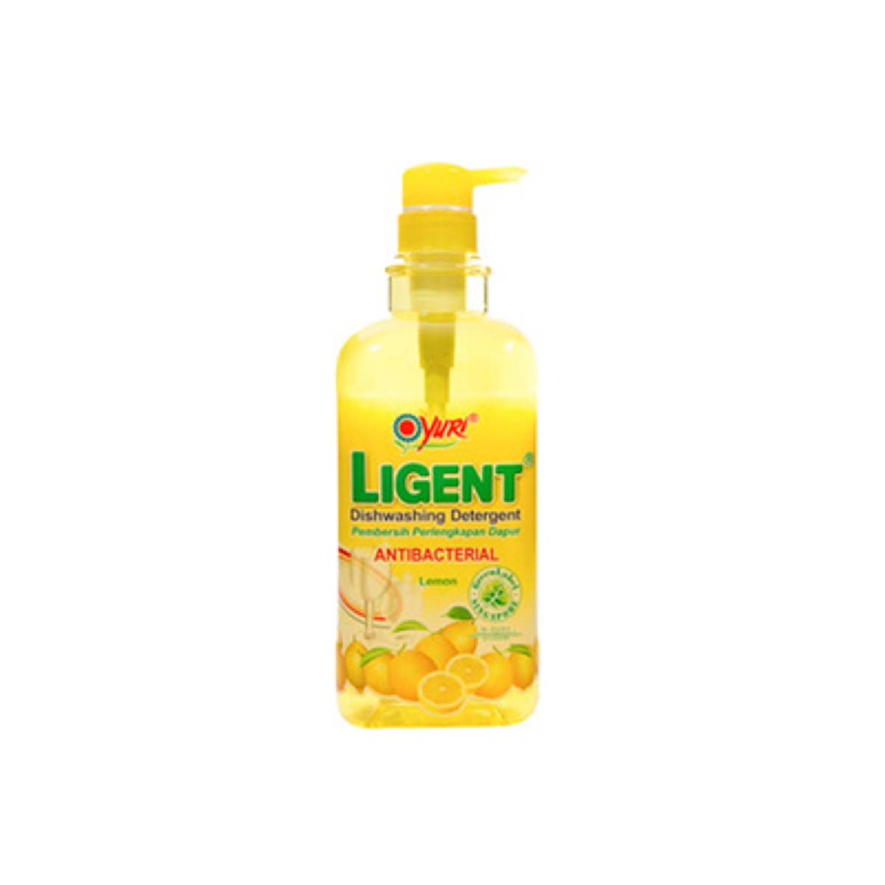 Yuri Dishwash Ligent Lemon Pump 1000Ml