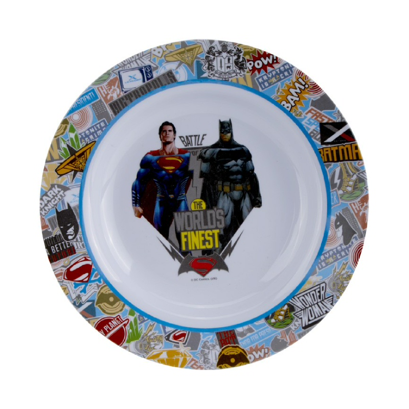 Superman Soup Plate 9 Inch