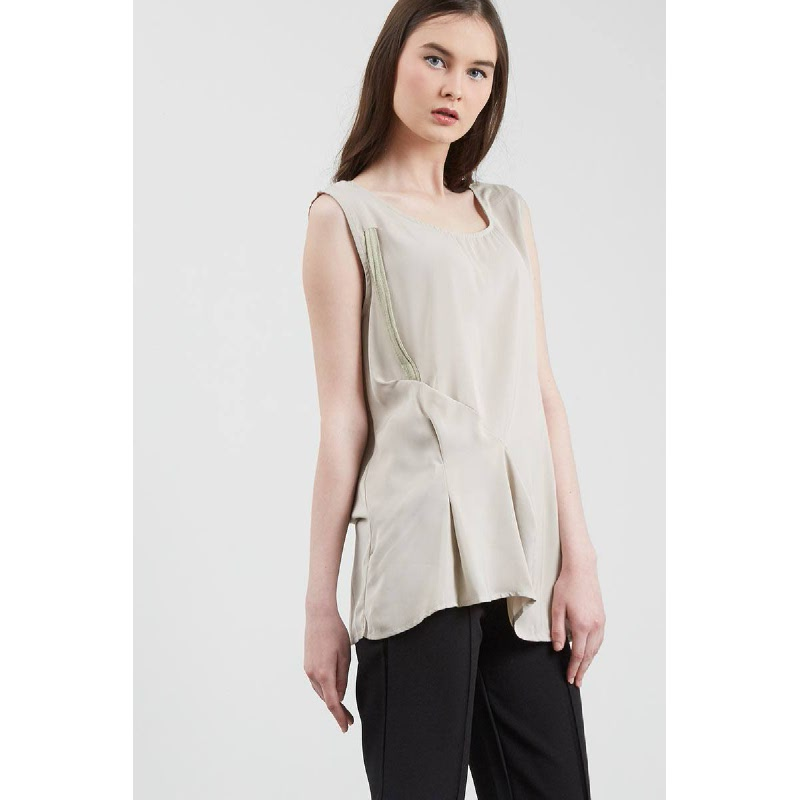 Francois Virne Top in Grey