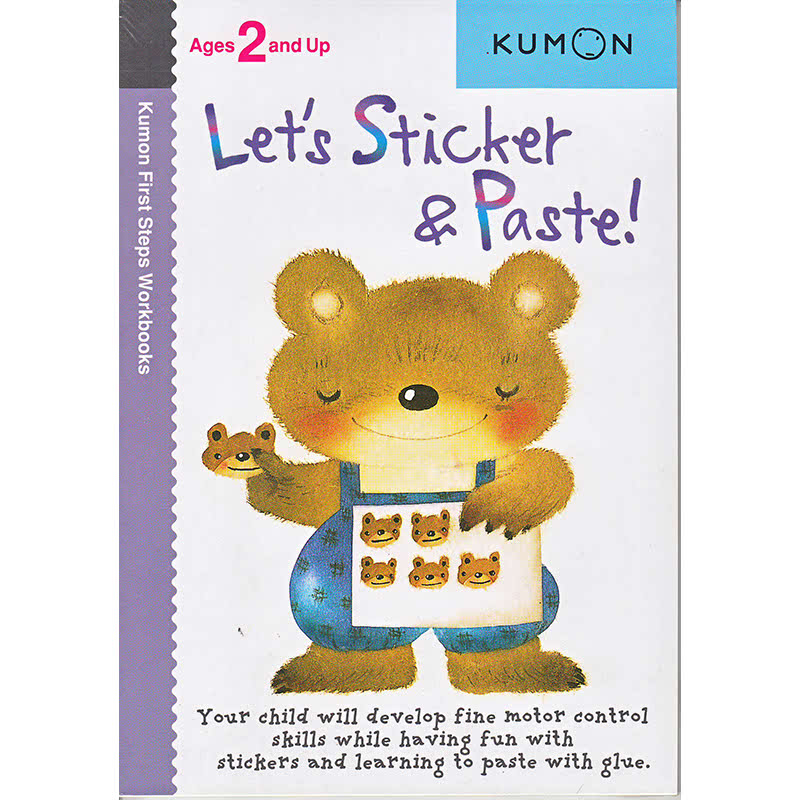 Kumon More Lets Sticker and Paste