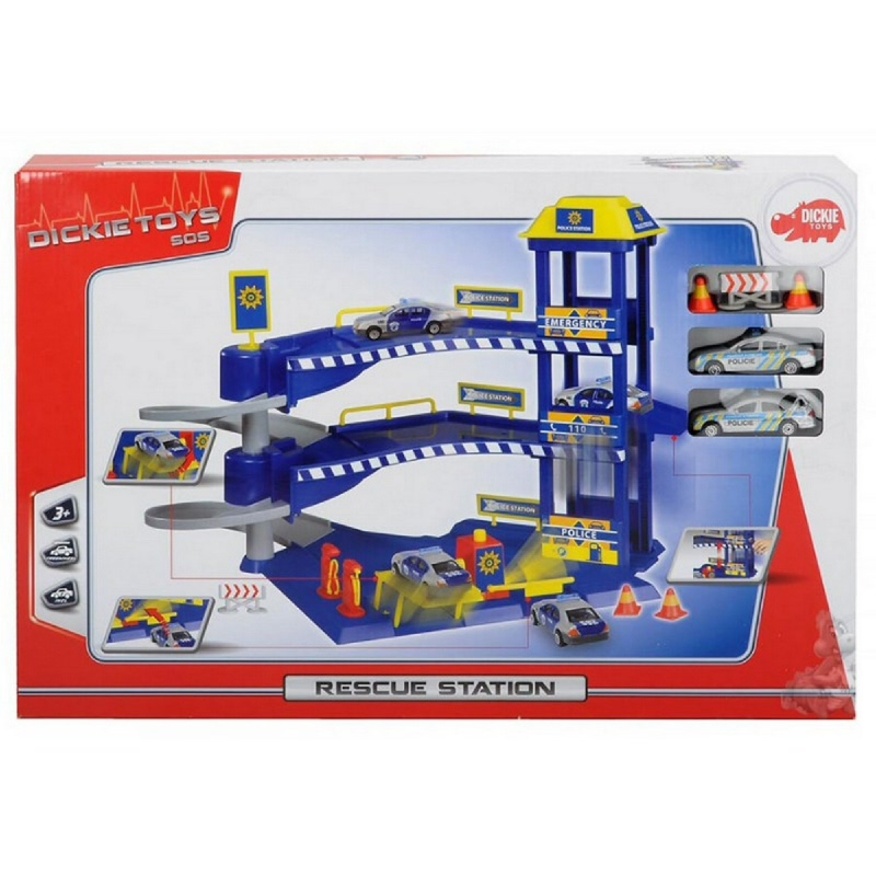 Dickie Toys International Rescue Station 2 ASST 2037180000