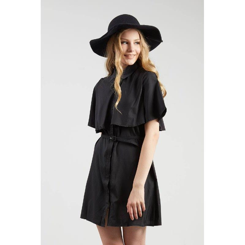 Francois Ruthen Dress in Black