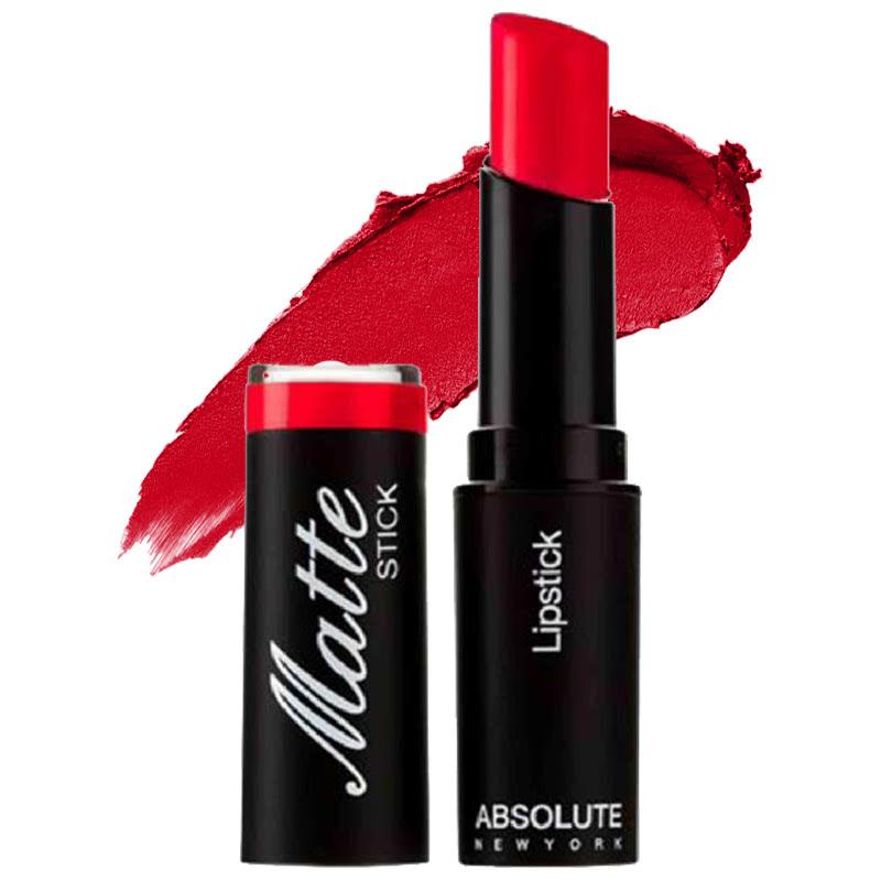 Absolute New York Matte Stick Lipstick Cadmium Red